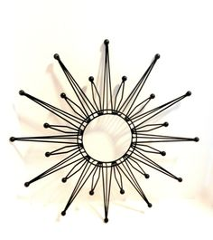 mosaic sunburst mirror | Art, Mirrors, Clock, Mod Retro Atomic Style, DIY Decoration, Sunburst ...