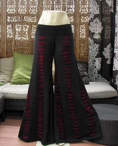 Custom make & they come in purple! http://www.etsy.com/au/listing/169747194/tribal-gypsy-belly-dance-slashed-flares?ref=related-0