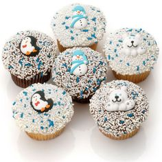 """Winter Belgian Chocolate Gourmet """"Devil Style"""" Cupcakes- 6 Pack  Price:  US$39.99  Our cupcakes are decadently delicious! Made from scratch, our cupcakes are moist and indulgent."""