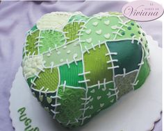 Hearth patchwork cake - Cake by Viviana Aloisi