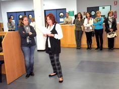 Celebración del Día Internacional de las Bibliotecas 2011 en BICC.  #uex #biblioteca #celebraciones