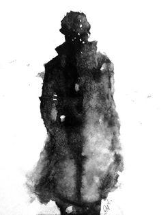 Beautiful Watercolor Sherlock