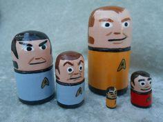 Hey, I found this really awesome Etsy listing at https://www.etsy.com/listing/171206488/star-trek-nesting-doll-set