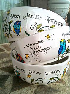 Harry Potter Bowls