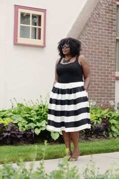 My Curves & Curls: Striped