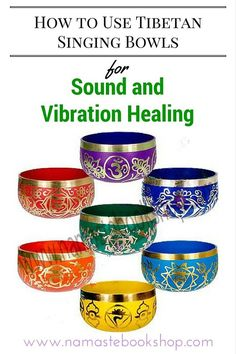 Singing bowls offer healing magic to everyone. Here's a simple guide on How to Use Tibetan Singing Bowls for Sound and Vibration Healing from namastebookshop.com
