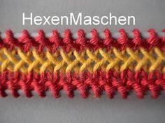 Make the macrame bag yourself Easy Knitting, Knitting For Beginners, Knitting Socks, Knitting Stitches, Knitting Needles, Knitting Patterns, Crochet Patterns, Crochet Simple, Free Crochet