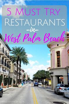 New Yorkers flock to this inter-coastal haven and I have put together my list of 5 restaurants in West Palm Beach that you have to try. West Palm Beach Florida, Palm Beach County, Florida Beaches, Riviera Beach Florida, Sandy Beaches, South Florida, Visit Florida, Florida Travel, Travel Usa