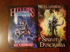 The Awesome S. Lindberg was nice enough to send me a copies of his fantastic new Sword and Sorcery books! Can't wait to check them out! Thanks Seth! Helen's Daimones an… Sword And Sorcery, Spawn, Fiction, Nice, Awesome, Books, Check, Livros, Book