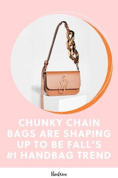 Whether you prefer a classic metallic chain, minimalist black and white or something a little bit on the quirky side, here are 18 chunky chain bags that will look as good in five years as they do now. #chunky #chain #bags