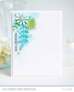 Handmade cards from Kay Miller featuring Peerless Watercolors.