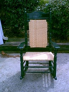 Brumby Rocker After Restoration This  Year Old Rocking Chair Looks Brand New