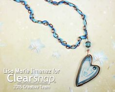 Resin Dancing Heart Pendant Day 2 of the Handmade Holidays Blog hop begins with a necklace featuring a handmade bezel using ICE Resin and glitter. See how Lisa Marie Jimenez created this stunning piece in the step by step tutorial on our blog at blog.clearsnap.com. Then continue on the hop to see over 80 gift ideas and enter to win a $600+ value ultimate crafter's kit with products from your favorite manufacturers. We've included all of our NEW Pigment ink Cat's Eyes and the Teresa Collins n...