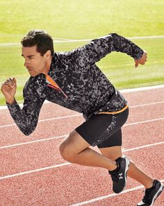 Under Armour men's running gear Sport Fashion, Fitness Fashion, Fitness Clothing, Workout Clothing, Men's Fashion, Nike Outfits, Sport Outfits, Workout Outfits, What To Wear Today