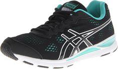 purchase cheap 3157d 64051 Amazon.com   ASICS Women s Gel-Storm 2 Running Shoe, Black Onyx Emerald, 10  M US   Running