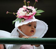 Never to young to get dressed for the Kentucky Derby!