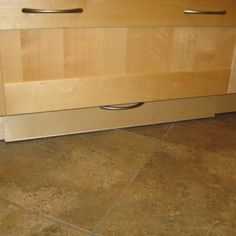 Ikea kitchen toekick drawer