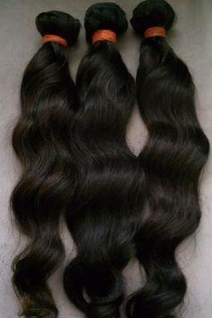 Peruvian virgin loose waves for sew in hair weaves. 214 G Street, Antioch CA. www.elisebeautysupply.com.