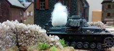 70: Rumms! Da hat der Panzer IV den ersten Treffer.