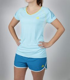 It's not too early for spring, right? Adidas Supernova Short Sleeve Tee & Own It Shorts