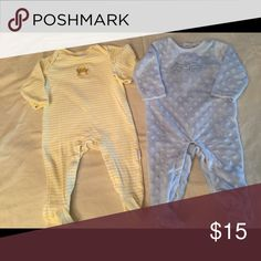 6 month romper Two vitamins baby rompers , 6 month. Great condition Vitamins Baby One Pieces Footies