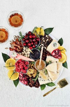 Christmas Brunch Cheese Board - Celebrations at Home