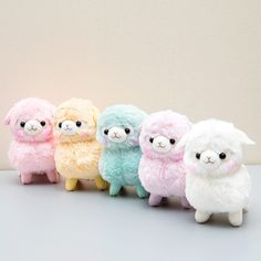 If you haven't seen an alpaca, or more specifically, a baby alpaca, you're in luck! Adorable and young alpaca from the Sherbet Kids Alpacasso series are looking for a new home! Each one of the five is unique in its own way, and named after five different bright colors: Milk-chan in white, Peach-chan in pink, Sora-chan in light blue, Orange-chan in orange, and Budou-chan in purple. They still have ...