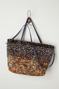 Fluttered Monarch Tote: so cute! WANT!