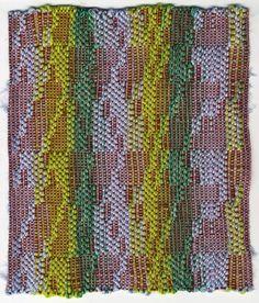 Weaving by Julia Little, via Behance