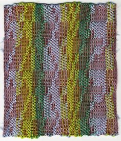Weaving by Julia Little, via Behance