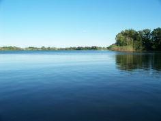 Swim across a small lake again.