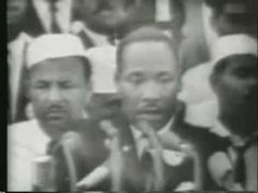 Dr. Martin Luther King Jr.  I HAVE A DREAM SPEECH - FULL VIDEO - PART 1 OF 2