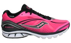 My running shoes: Saucony Women's Kinvara 2, super light and flexible but still give great stability. And this color!! ;-)