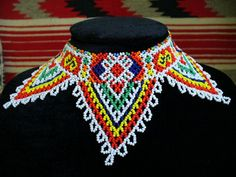 Traditional Romanian folkart necklace from Bihar area.