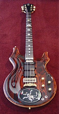 "The Alembic ""Grateful Egg"" Custom Tribute guitar http://Promusicianslist.com"