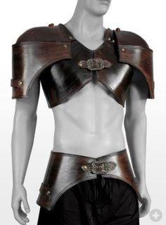 Celtic Warrior Leather Armor Handcrafted Genuine Larp