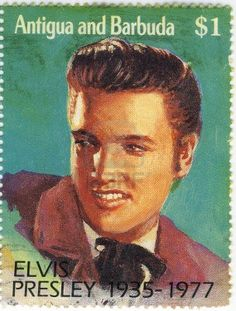 *ELVIS PRESLEY ~ United States Postal Stamp, One dollar
