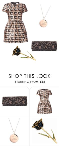 """""""rose gold"""" by feedbacker1 ❤ liked on Polyvore featuring мода, Diane Von Furstenberg, RED Valentino, Kate Spade, women's clothing, women's fashion, women, female, woman и misses"""