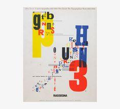 Rassegna 30 Piet Zwart : The Typographical Work 1923-1933