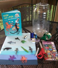 Create Your Own Underwater world and explore the zones and habitats of ocean animals.