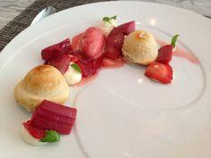 Molten Strawberry Shortcake