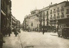 plaza de tirso de molina, 1933 (antes, del progreso)