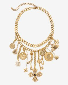 Women's Charm Statement Necklace by WHBM