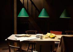 Johan van Hengel's 30degree hanging light