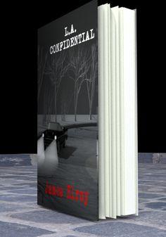 novela negra, portada libros, book cover, book, libros, L.A. Confidential, James Ellroy