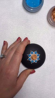 Best Indoor Garden Ideas for 2020 - Modern Dot Art Painting, Mandala Painting, Pebble Painting, Mandala Art, Stone Painting, Mandala Painted Rocks, Mandala Rocks, Paint Pens For Rocks, Macrame Wall Hanging Diy