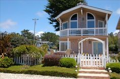 Cambria Vacation Rental - VRBO 183484 - 2 BR Central Coast House in CA, B.V.S.-Ocean Mist- Pet Friendly Ocean View Beach House