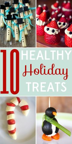 It's December: are your pants already feeling tight? These 10 healthy holiday treats will please both kids and kids at heart!