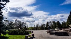 The centre of Lutsk, Ukraine Ukraine, Centre, Clouds, Photos, Outdoor, Outdoors, Pictures, Outdoor Games, Outdoor Living