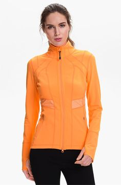 Zella 'Victory' Jacket available at Nordstrom Sport Fashion, Fitness Fashion, Sport Outfits, Cool Outfits, Evolution Of Fashion, Sports Women, Sports Tops, Sport Chic, Workout Wear